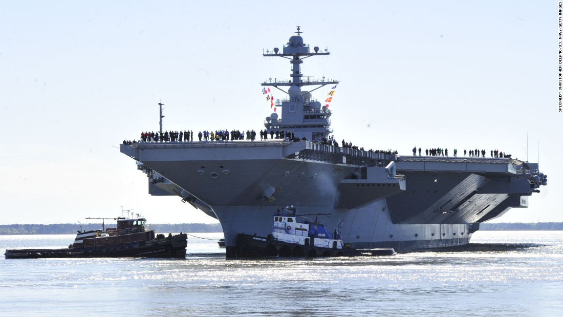 sneak peek at us navy 39 s new 13b aircraft carrier cnnpolitics. Cars Review. Best American Auto & Cars Review