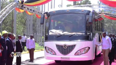 Marketplace Africa Ugandan company creates a solar-powered electric bus A_00001214