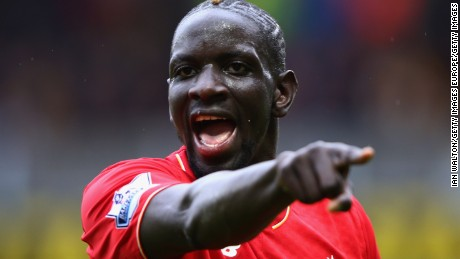 Sakho has fallen out of favor at Liverpool and is on loan at Crystal Palace.