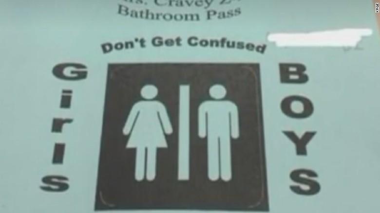 Teacher Under Fire For Bathroom Pass Genders Cnn