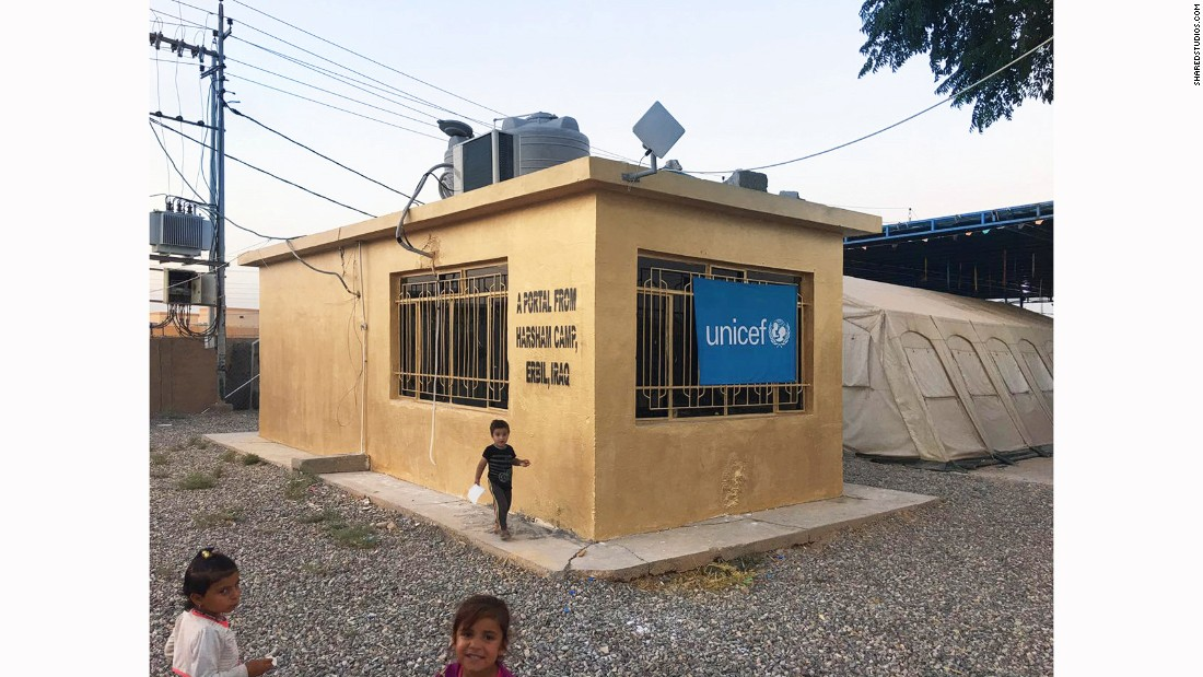 In Irbil, the Portals Project funds the portal with assistance from UNICEF, Bakshi said. In all, the portals are available to 10,000 refugees in Irbil, Berlin, Gaza City and Amman.