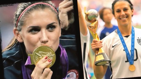 Alex Morgan Carli Lloyd