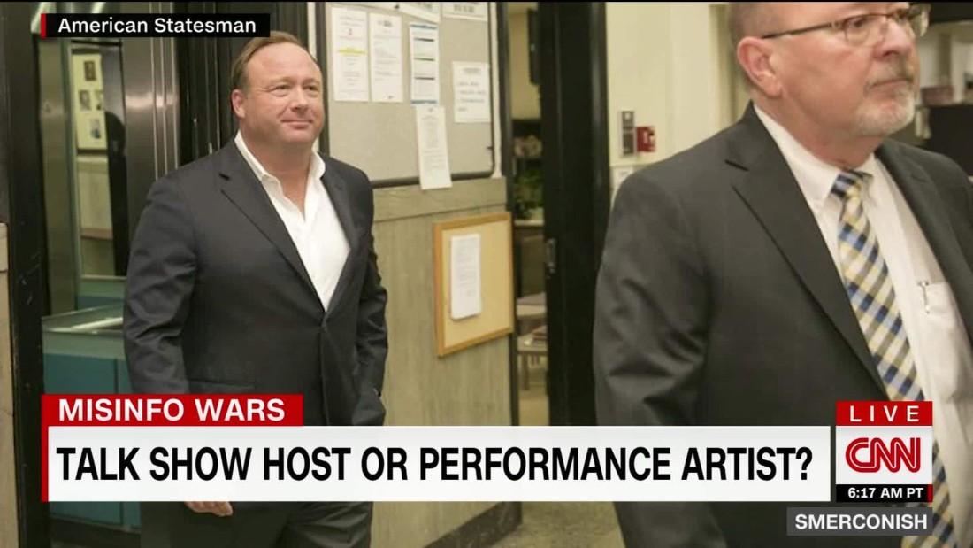Alex Jones: Talk show host or performance artist?