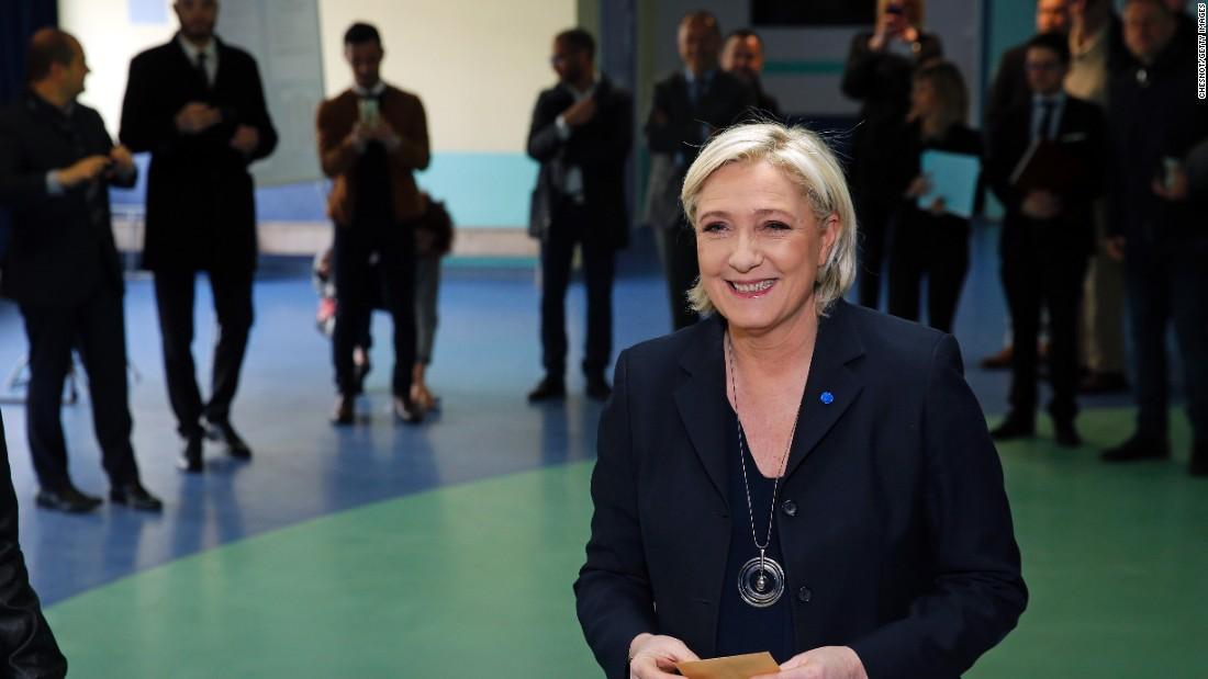 Why Putin and Trump both like Le Pen