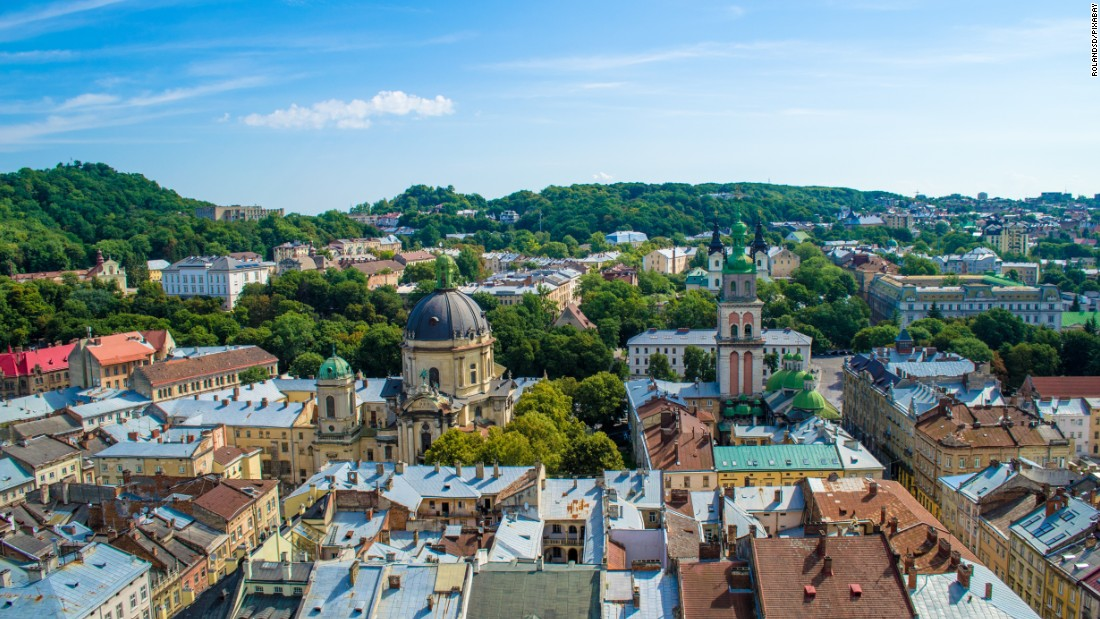 "<strong>Lviv: </strong>Nicknamed the ""cultural capital"" of Ukraine, Lviv has the most western architecture of all the country's cities. Photo: RolandSD/Pixabay."