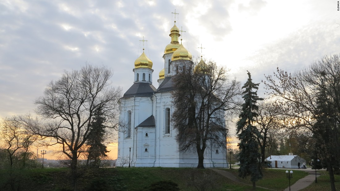 <strong>Chernihiv:</strong> St. Catherine's Church in Chernihiv is just one of the treasures in Ukraine's oldest city. Photo: ElenaSA/Pixabay.