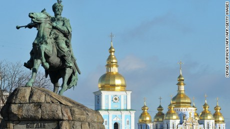 Kiev, Ukraine's capital, is a vibrant destination filled with golden-domed churches.