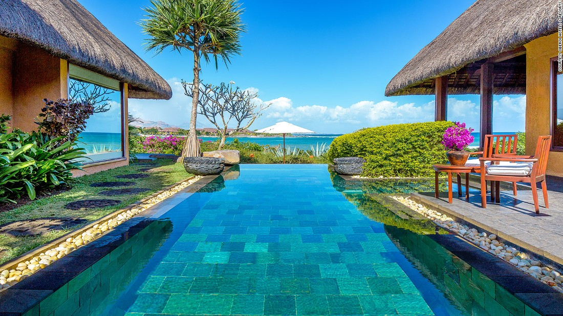 <strong>Oberoi Mauritius, Turtle Bay Marine Park, Balaclava: </strong>Repeatedly voted the best hotel in Mauritius at the World Travel Awards, this intimate hideaway is the sort of place where guests return to their room to find their bath tub filled with roses.