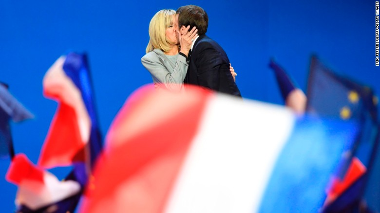Are we sexist for gawking at Macron's marriage?