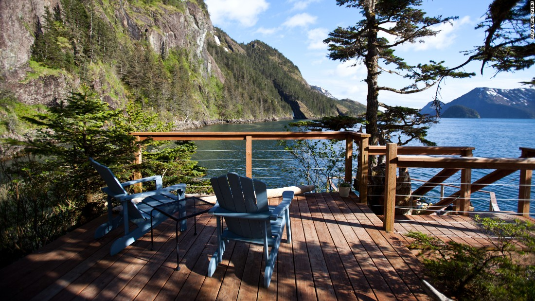 <strong>Orca Island Cabins, Seward, Alaska:</strong> Seven solar-powered yurts are tucked into this private island in Resurrection Bay, where guests can fish for their own dinner or stand-up paddleboard or kayak to spot wildlife. <br />
