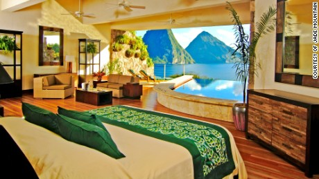 Jade Mountain: breaking the fourth wall.