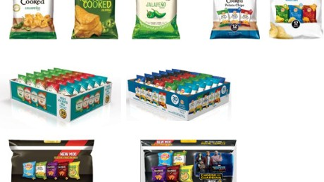 Some of the products affected by Frito-Lay's recall.
