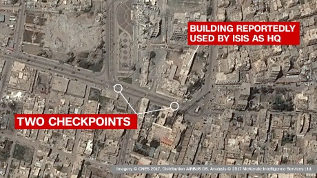 Satellite captures rare snapshot of life in Raqqa