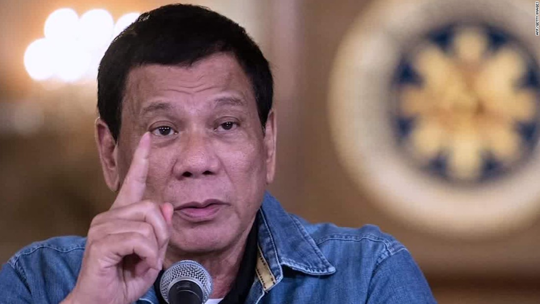 Duterte says he may expand martial law 'throughout the country' in fight against ISIS