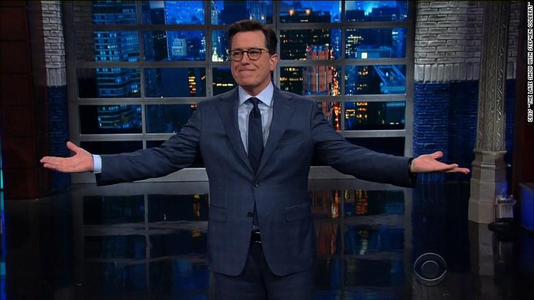 Colbert tears apart Trump's accomplishments