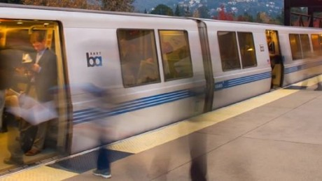 Bay area transit passengers are on edge after a mob of teenagers flash robbed a train over the weekend.