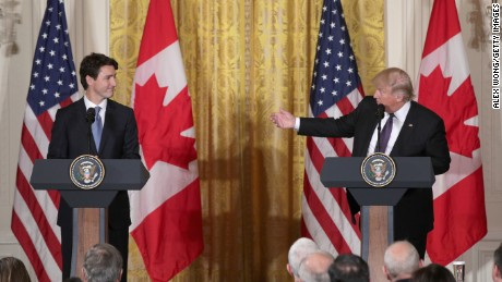 How Trump and Trudeau connected on NAFTA