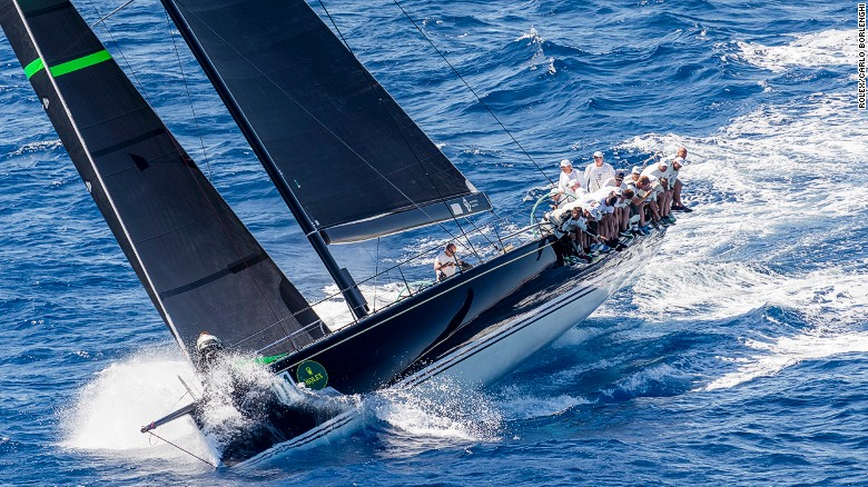 Hap Fauth's Bella Mente won the 2016 Maxi 72 world championship in Sardinia.