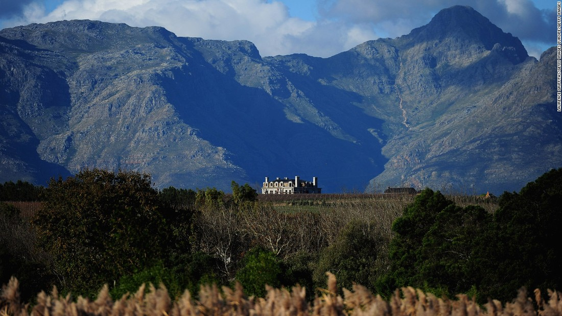<strong>Stellenbosch, the Cape Winelands:</strong> Sitting in the heart of the Cape Winelands, Stellenbosch's vineyards are surrounded by towering mountains. Stellenbosch claims to have the only new grape variety created outside Europe -- a grape variety called Pinotage created by a professor at Stellenbosch University.