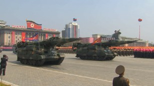 North Koreans celebrate 'Army day'