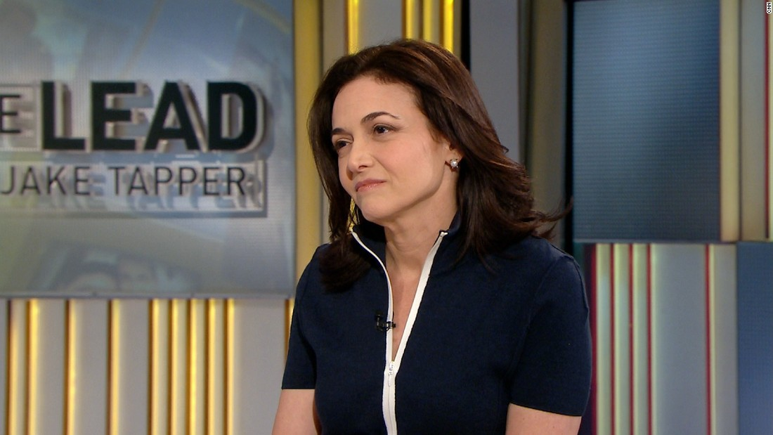 Sandberg on husband's death: 'I couldn't breathe'