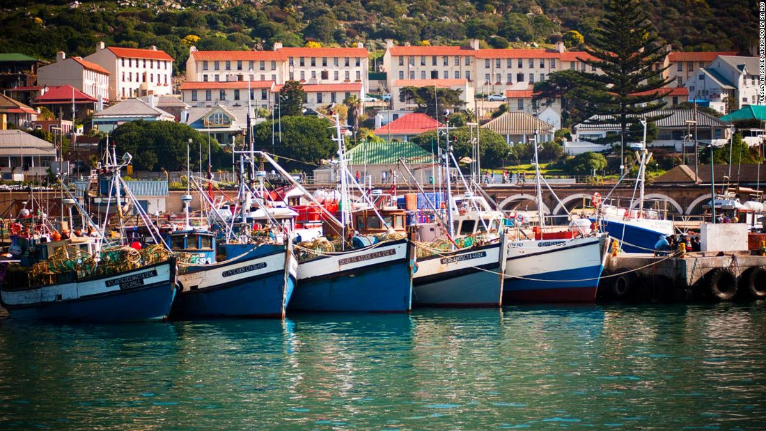 <strong>Kalk Bay, Cape Town: </strong>White-sand beaches, colorful fishing boats and houses running up mountain slopes are the must-include elements in your Instagram shots of Cape Town's picture-perfect suburban fishing town.(Wesley Nitsckie/Flickr/CC by SA 2.0)