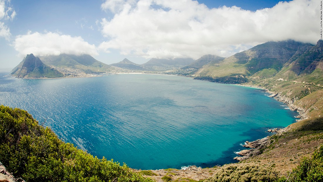 "<strong>Chapman's Peak Drive, Cape Town: </strong>Affectionately nicknamed ""Chappies"" by local residents, Chapman's Peak Drive is a nine-kilometer scenic and curvy -- with 114 bends -- stretch of road from Hout Bay to Noordhoek."