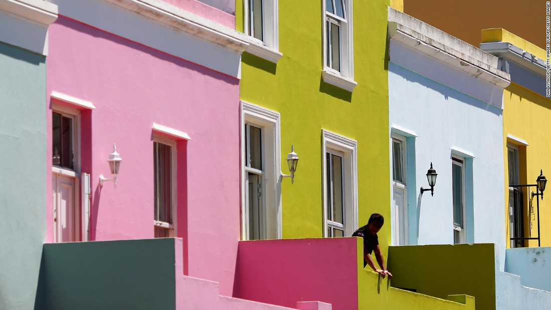 "<strong>Bo-Kaap, Cape Town: </strong>Formerly the Malay Quarter, Bo-Kaap's cobbled stone streets and cheerfully colorful houses are the main draw for visitors. It's also the place for<a href=""http://edition.cnn.com/2016/10/25/travel/cape-malay-cuisine-south-africa/""> Cape Malay cuisine</a>."