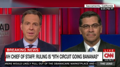 rep. becerra discusses sanctuary cities the lead jake tapper _00001709
