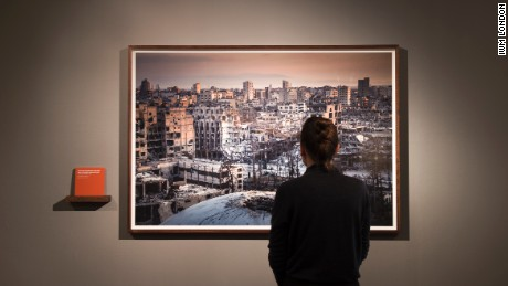Ponomarev's photographs of Syria are going on display in the UK for the first time.
