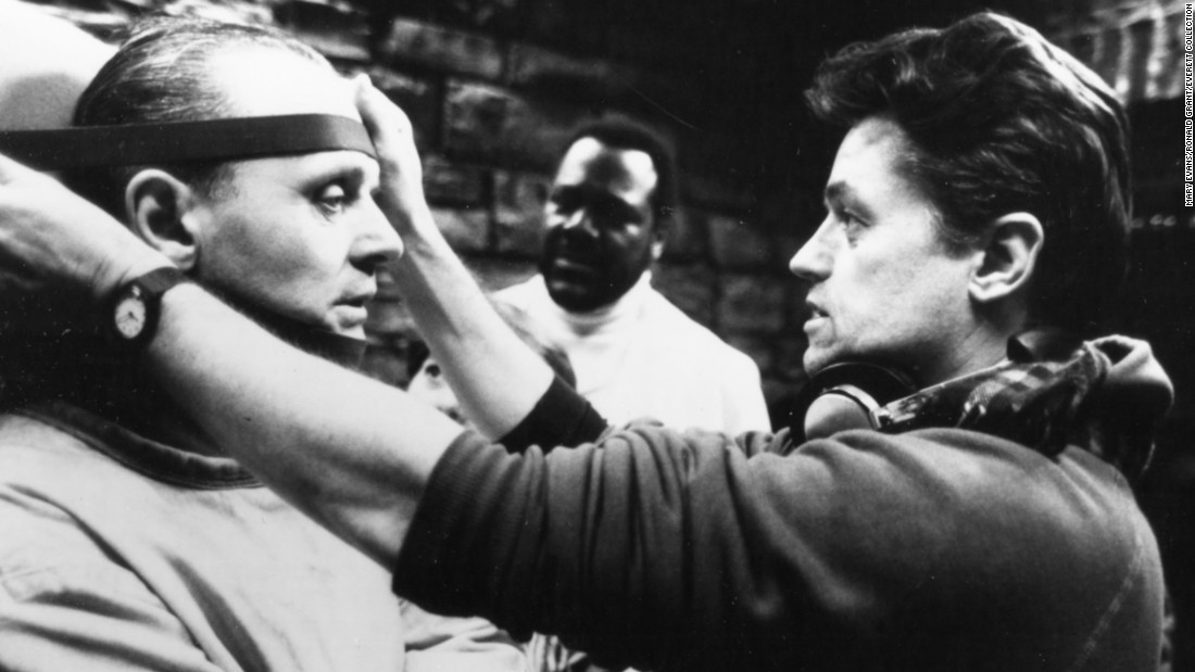 "Filmmaker <a href=""http://www.cnn.com/2017/04/26/entertainment/jonathan-demme-death-trnd/index.html"" target=""_blank"">Jonathan Demme</a>, whose Oscar-winning thriller ""The Silence of the Lambs"" terrified audiences, died April 26 at the age of 73. Here, Demme works on the ""Silence of the Lambs"" set with actor Anthony Hopkins in 1991. Demme's other films include ""Philadelphia,"" ""Married to the Mob"" and a remake of ""The Manchurian Candidate."""