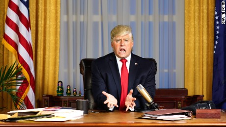 Anthony Atamanuik in 'The President Show'