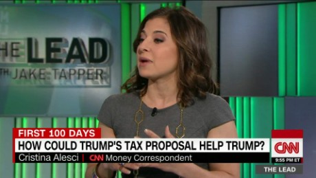 Cristina Alesci reports on Trump's tax proposals the lead _00004815.jpg