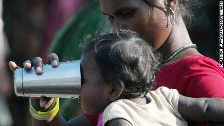 Arsenic-polluted water linked to cancer in India