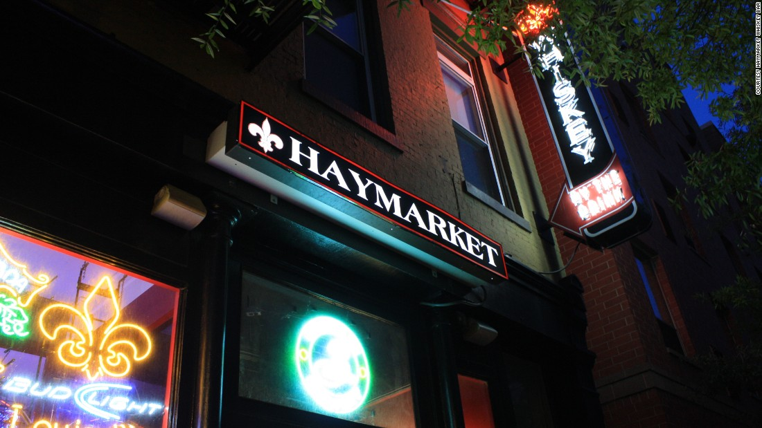 <strong>Haymarket: </strong>This casual spot serves more than 250 Kentucky bourbons and more than 400 whiskeys total.