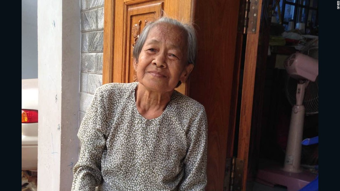 """I go to meet them, I go to their house and cook food with them. They teach me,"" San says of the people he learned from, such as Grandma Sok Loun. <br />"