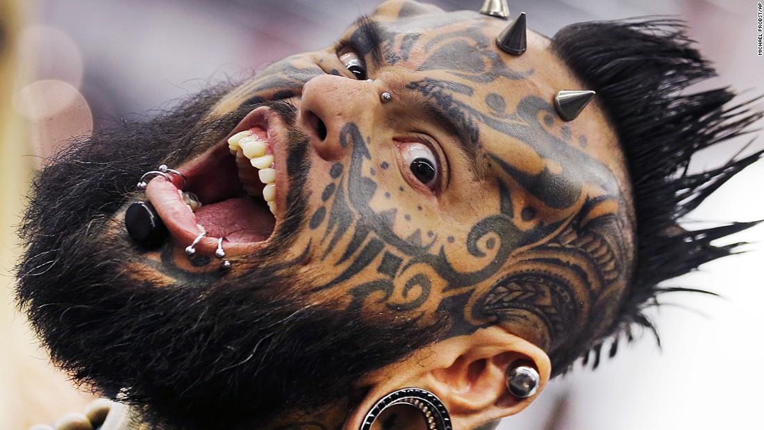 The week in 29 photos for Elijah daniel trump tattoo