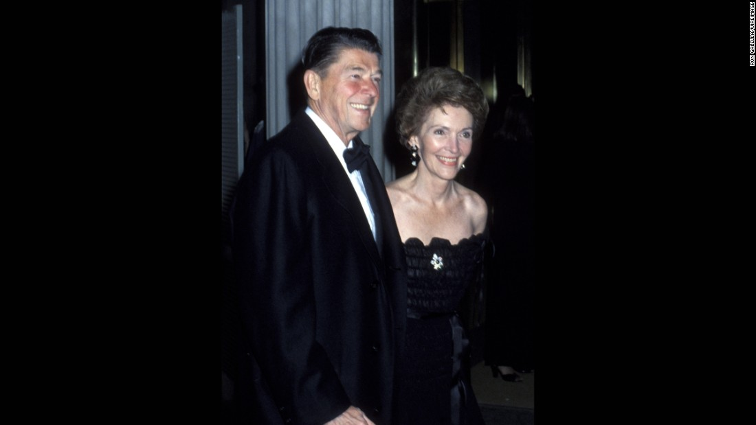 Ronald Reagan and Nancy Reagan