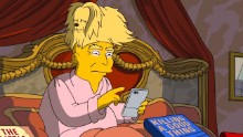 How 'The Simpsons' tackled Trump's 100 days