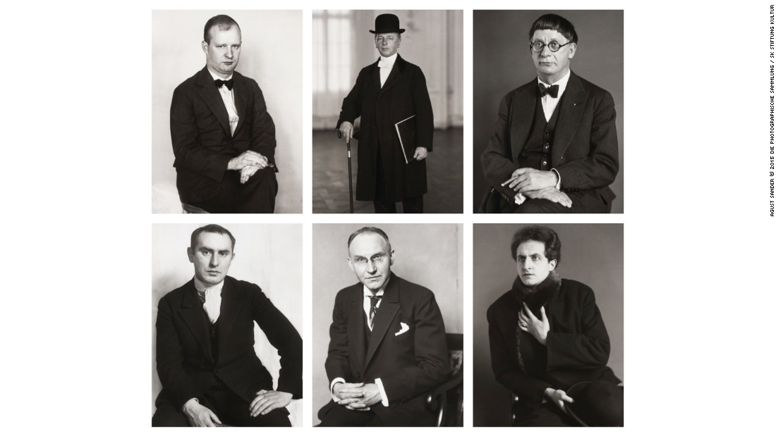 "In the 1920s, German photographer August Sander embarked on an ambitious project: to try and catalog the the entirety of German society's social and occupational diversity, in a massive collection portraits. These images, from his volume ""Face of Our Time,"" serve as an important historical touchstone for the genre of serial photography."
