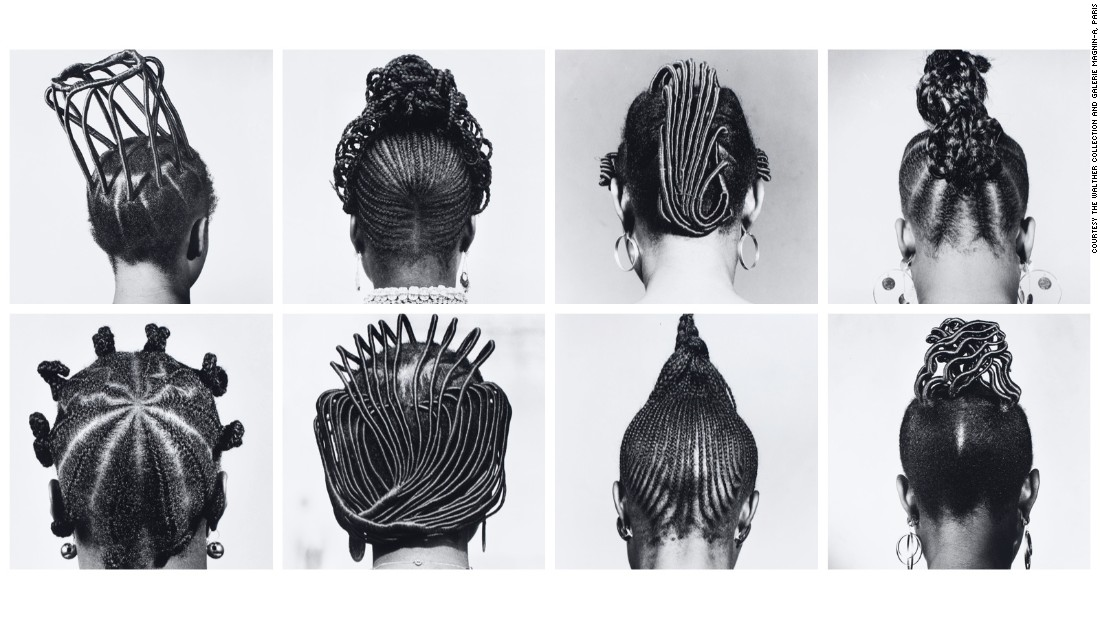"The great Nigerian photographer J.D. 'Okhai Ojeikere's ""Hairstyles"" series began as a self-assigned project in 1970, and became one of the most memorable visual records of Nigeria's post-colonial transition. Over four decades he made more than 1,000 images of architecturally styled hair, intimate metaphors for the country's culture and development."
