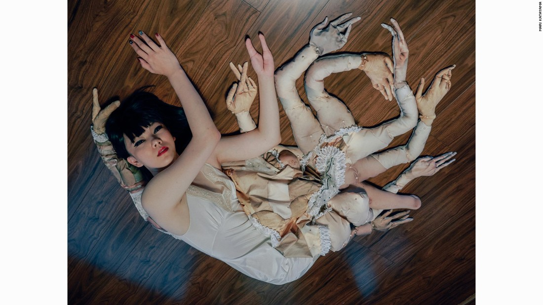 Scroll through the gallery for works by Japanese photographer Mari Katayama.