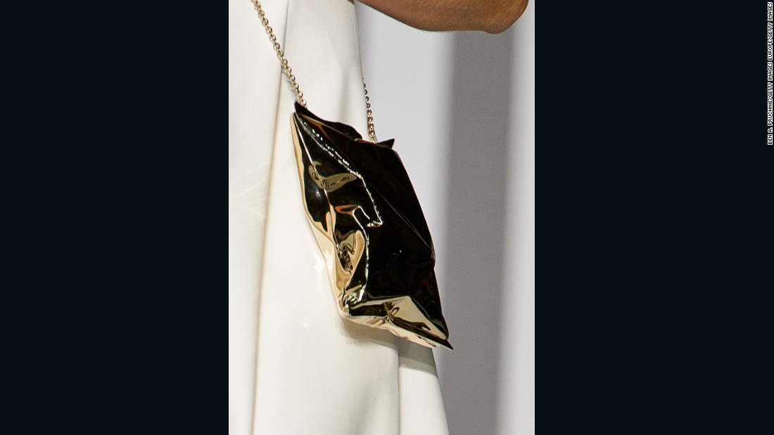 "Anya Hindmarch has long sold bags shaped like a bag of chips, which she calls ""a lovely thing."""