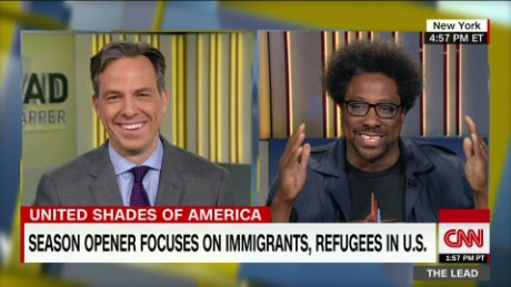 Kamau Bell talks with White Nationalist united shades of america the lead _00011714