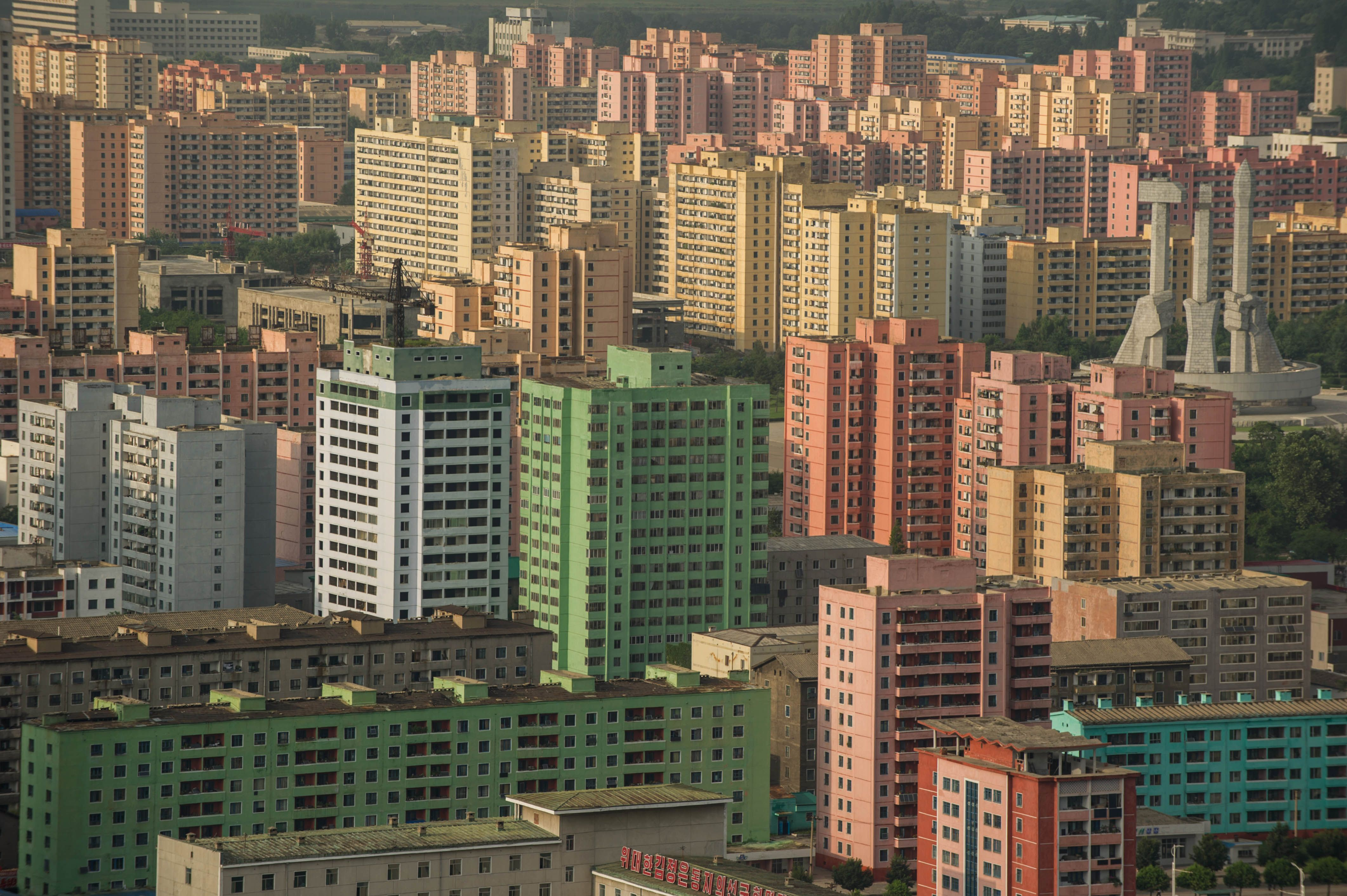 Picture Of Apartment inside a north korean home - cnn video