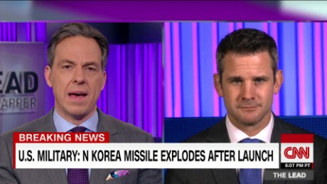 rep. kinzinger weighs in on n. korea missile test the lead _00001117