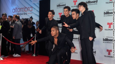 CORAL GABLES, FL - APRIL 27: CNCO attend the Billboard Latin Music Awards at Watsco Center on April 27, 2017 in Coral Gables, Florida.  (Photo by Sergi Alexander/Getty Images)