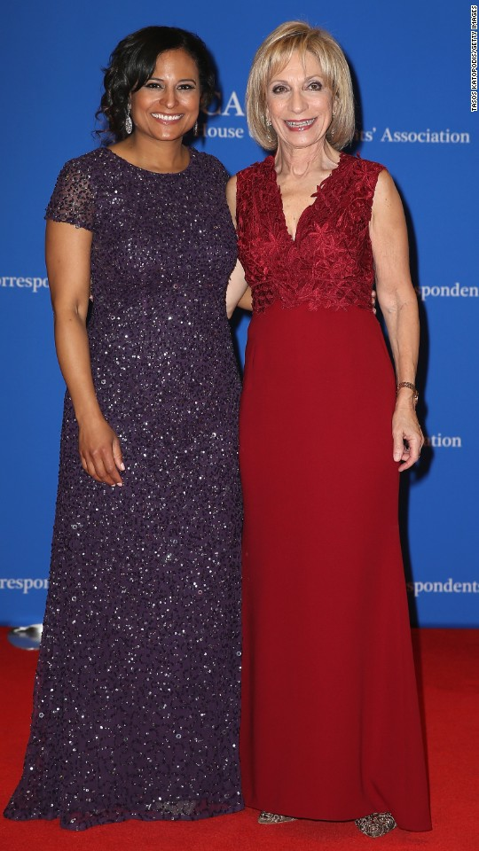 NBC News White House correspondent Kristen Welker, left, and chief foreign affairs correspondent Andrea Mitchell