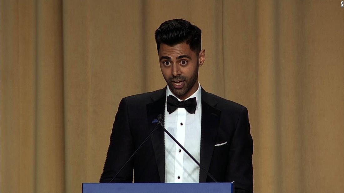 10 memorable lines from comedian Hasan Minhaj at the WHCA dinner