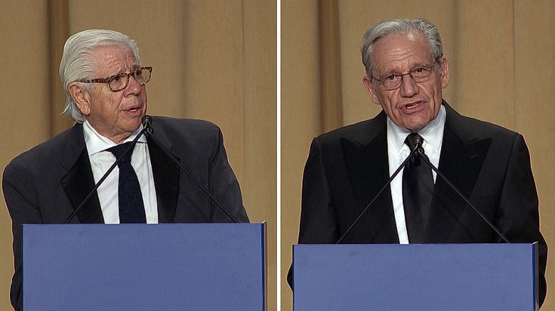 Bob Woodward: The media is not fake news